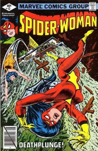 Spider-Woman #17 (FN+ to VF-)