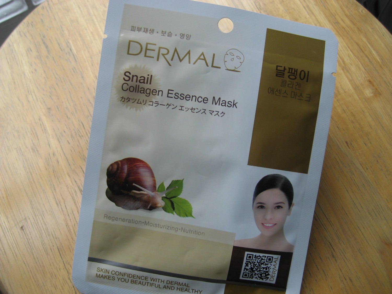 Dermal Collagen Essence Mask: Snail (Made in Korea)