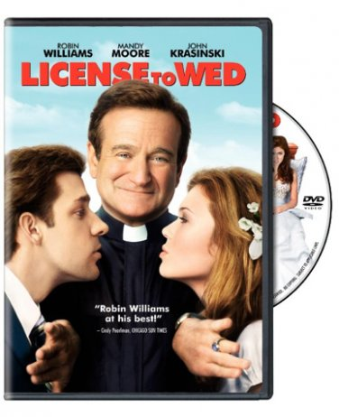 License to Wed on DVD; comedy; Robin Williams