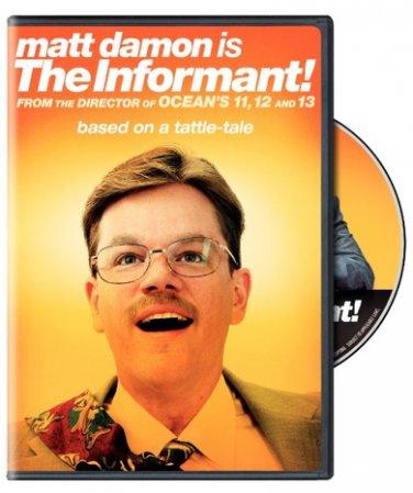 The Informant on DVD; 2010 comedy-drama; Matt Damon