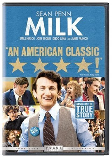 Milk on DVD; 2009 drama; Sean Penn