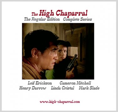 The High Chaparral on 49 DVDs~ Regular Edition Complete Series