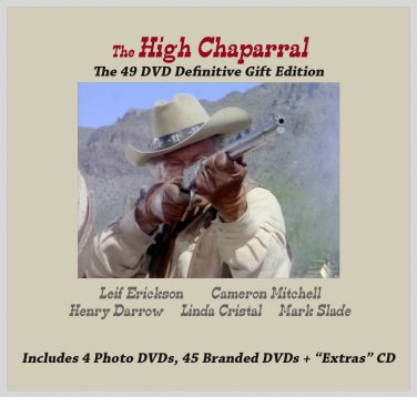 The High Chaparral on 49 DVDs~ Definitive Gift Edition Complete Series
