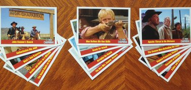 The High Chaparral 14 Trading Card Set; Limited Edition of 300