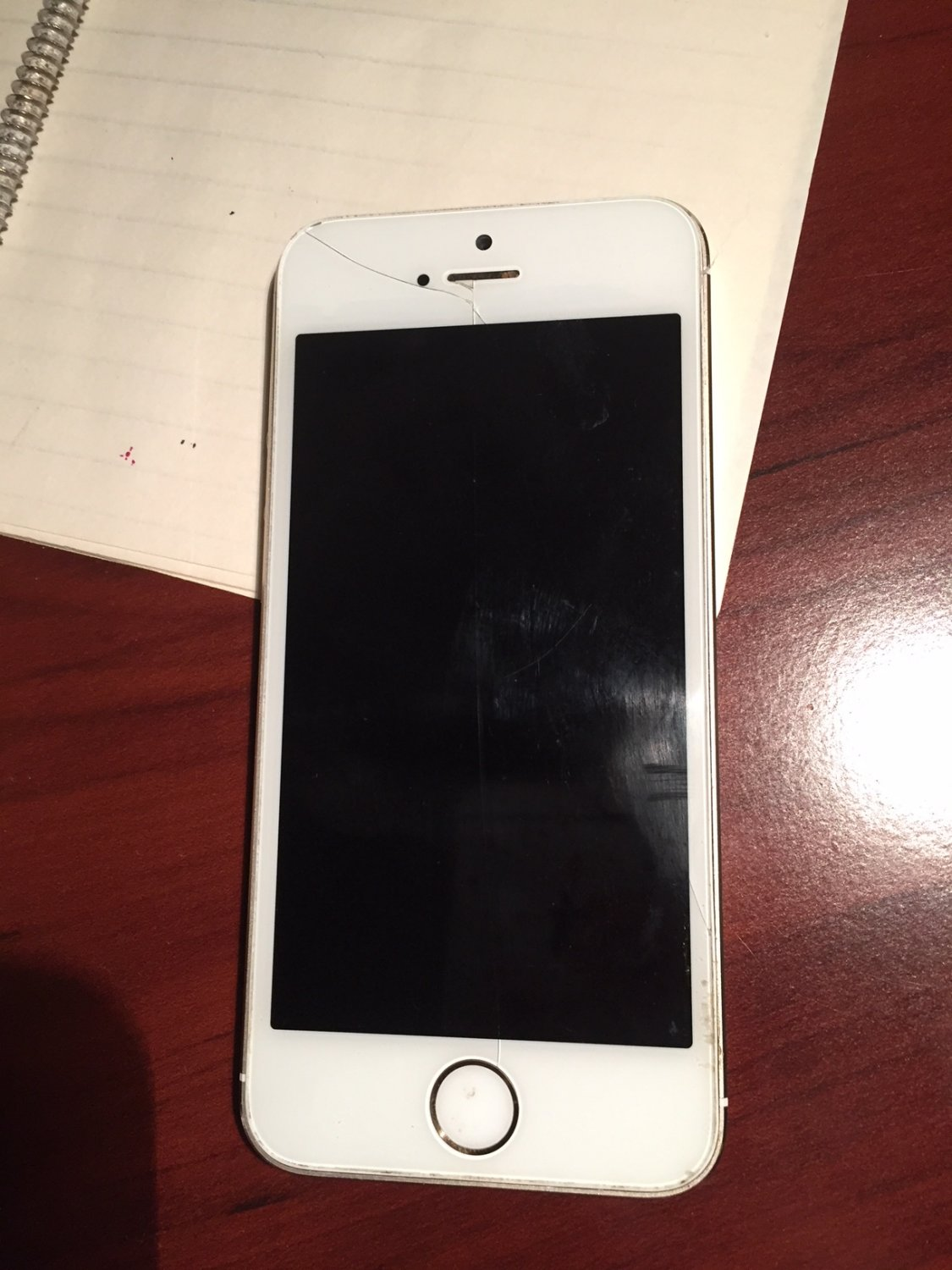 iphone 5s parts apple iphone 5s 16gb gold not working for parts only 3942