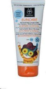 Apivita Face & Body Milk for Kids SPF50 with apricot & calendula100ml