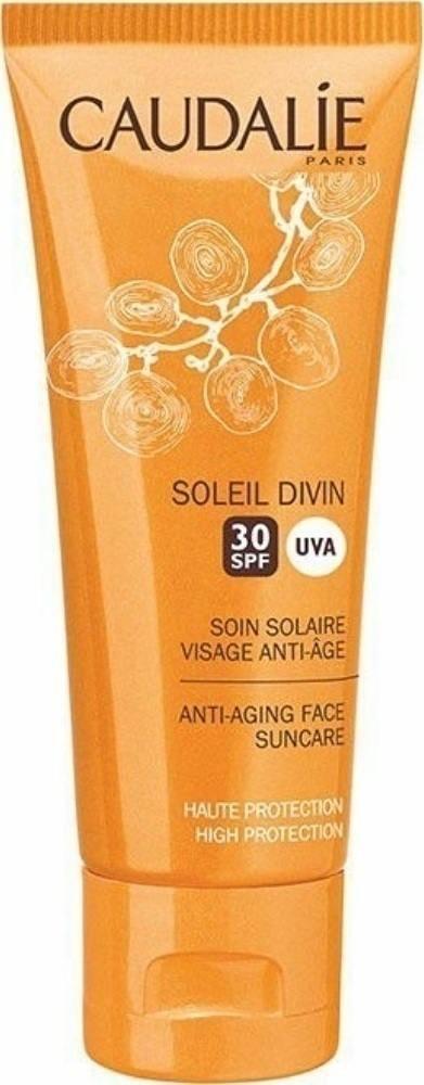 CAUDALIE SOLEIL DIVIN SOIN SOLAIRE VISAGE ANTI AGE IP30 40ML