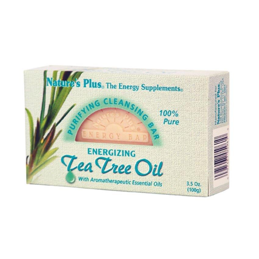 NATURE'S PLUS TEA TREE OIL ANTIBACTERIAL 3.5 OZ BAR