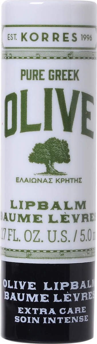 Korres Pure Greek Olive Lip Balm Extra Care 5ml