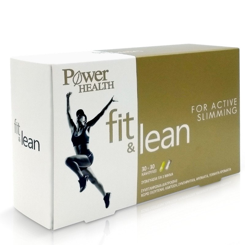 Power Health Fit & Lean For Active Slimming 30+30 Caps Weight Loss