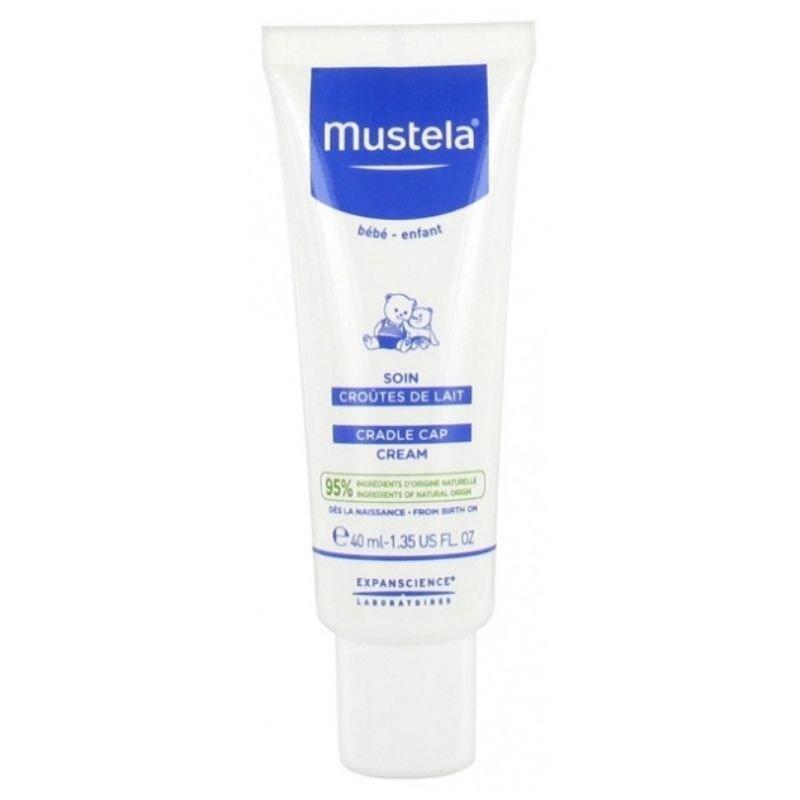 Mustela Cradle Cap Cream, 40ml