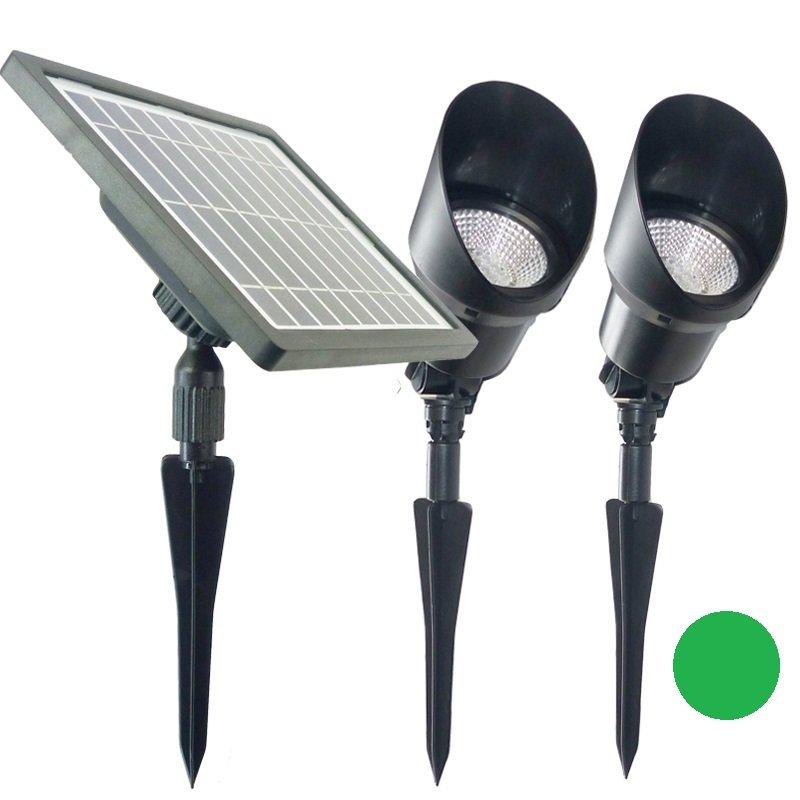 Professional garden Solar Spot light 36 LED Decorative Yard Outdoor Lights - Green