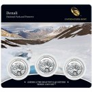 2012 US Mint America The Beautiful 3 Coin Set Denali National Park