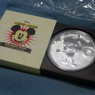 2015 $100 Disney Steamboat Willie Mickey Mouse 1 Kilo Silver Proof Coin Limited