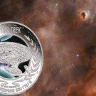 2015 Star Trek Next Generation Enterprise NCC-1701D 1oz .999 Silver Proof Coin
