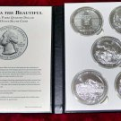 2010 US Mint Silver ATB Coin Set 5 oz Complete 5 Parks 25 Total Oz of Silver