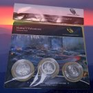 Lot Of 10 2012 US Mint Hawaii Volcanoes ATB Quarters 3 Coin Set Sealed Hard To Find - New