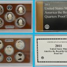 2011 Proof Quarter Parks America The Beautiful Set Gem DCAM  5 coins 2nd Year of Series