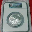 2010 5 oz Silver ATB Yellowstone NGC MS68 Early Release