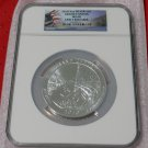 2010 5 oz Silver ATB Grand Canyon NGC MS68 Early Release