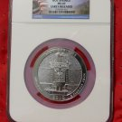 2010 5 oz Silver ATB Hot Springs NGC MS69 Early Release