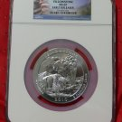 2010 5 oz Silver ATB Yellowstone NGC MS69 Early Release