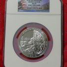 2010 5 oz Silver ATB Grand Canyon NGC MS69 Early Release