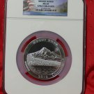 2010 5 oz Silver ATB Mount Hood NGC MS69 Early Release