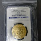 2009 $50 1 Troy Oz .9999 Gold Buffalo Coin NGC Grade MS70  Early Release