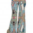 3x Printed Wide Leg Pants
