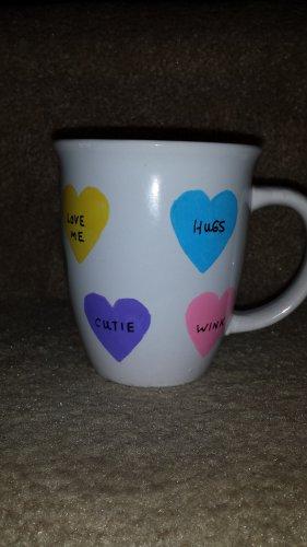 Candy Heart Sentiment Mug