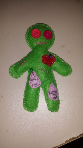 Valentine Voodoo Pincushion