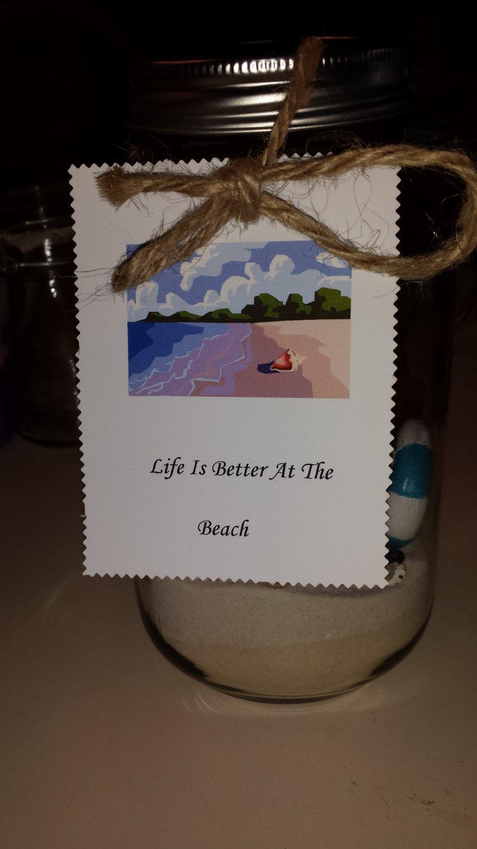 Beach Escape Jar
