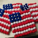 Patriotic Coaster Set