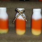 Candy Corn Bottle Set