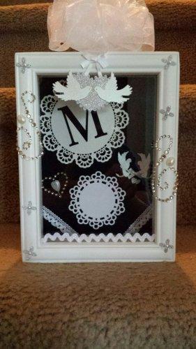 Beautiful Wedding Shadow Box Gift
