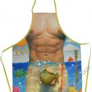 Fisherman's Friend  Man  Sexy Flirty Funny BBQ Novelty Apron For Men Father's Day