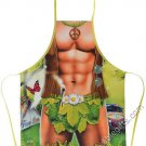 Hippy Man Apron Sexy Flirty Funny Novelty Kitchen BBQ grilling Apron For Men
