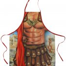 SPQR Gladiator Apron Sexy Flirty Funny kitchen Novelty Apron For Men, super