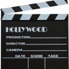 "Directors Film Making Independent Large Hollywood On Set Clapboard 12"" x 12"""