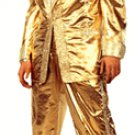 ELVIS PRESLEY CARDBOARD CUTOUT LIFE SIZE STANDUP - GOLD LAME SUIT