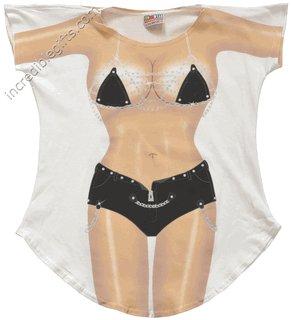 BIKER CHICK  bikini Cover-Up  REG  SIZE T-Shirt Sexy Flirty Funny Silly Crazy Summer Fun