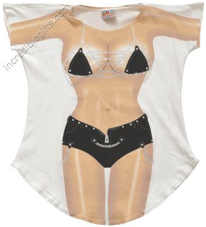 BIKER CHICK  bikini Cover-Up  PLUS   SIZE T-Shirt Sexy Flirty Funny Silly Crazy Summer Fun