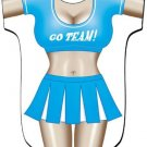 Cheerleader Cover-Up T-shirt    REG     SIZE T-Shirt Sexy Flirty Funny Silly Crazy Summer Fun