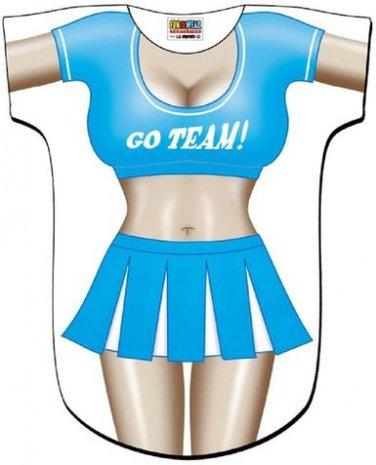 Cheerleader Cover-Up T-shirt    REG     SIZE T-Shirt Sexy Flirty Funny Silly Crazy Summer Fun