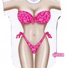 Hearts Bikini Cover up T-Shirt  PLUS   SIZE T-Shirt Sexy Flirty Silly Crazy Summer Fun