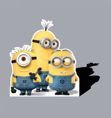 NEW Minion Group  Licensed Movie  Cardboard Cutout Poster Life Size Standup