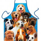 DOGS Apron Kitchen Novelty Apron dog lovers ORIGINAL made in ITALY
