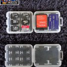 8 in 1 Micro SD Memory Card TF Carrying Box Storage Holder Plastic Case ((USA))