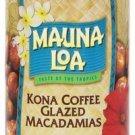 Kona Coffee Glazed * Hawaii Mauna Loa Macadamia Nuts NIP
